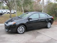 This 2017 Toyota Corolla 4dr LE CVT features a 1.8L 4