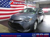 CARFAX One-Owner. Clean CARFAX. Grey 2017 Toyota