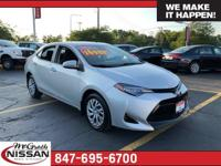 2017 Toyota Corolla LE CARFAX One-Owner. Clean Vehicle