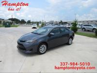 You can find this 2017 Toyota Corolla LE and many