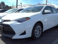 Come see this certified 2017 Toyota Corolla LE. Its