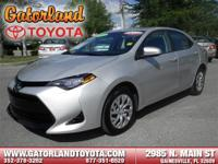 Options:  2017 Toyota Corolla Le|**Prices Are Plus