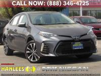 Options:  2017 Toyota Corolla Se|Gray|Check Out This
