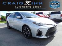 CarFax 1-Owner, This 2017 Toyota Corolla SE will sell