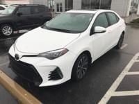 This outstanding example of a 2017 Toyota Corolla SE is