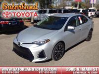 2017 Toyota Corolla SE Need gas? I don't think so. At