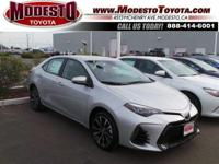 2017 Toyota Corolla SE 35/28 Highway/City MPGAwards:*
