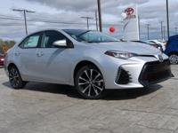 This 2017 Toyota Corolla SE  will sell fast! This