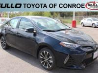 Black 2017 Toyota Corolla SE 35/28 Highway/City