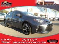SE trim. CARFAX 1-Owner, Toyota Certified. EPA 35 MPG