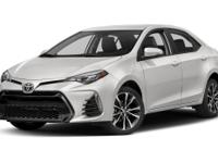 This 2017 Toyota Corolla 4dr SE CVT features a 1.8L 4