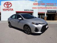 2017 Toyota Corolla SE 35/28 Highway/City MPGEmail us