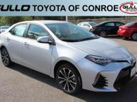 Silver 2017 Toyota Corolla SE 35/28 Highway/City