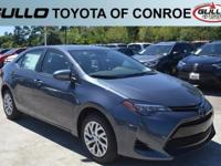 01f9/ 2017 Toyota Corolla LE 36/28 Highway/City