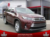 The Toyota Highlander is crafted with excited