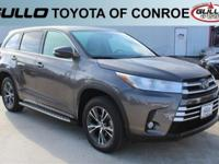 Gray 2017 Toyota Highlander LE Plus 27/21 Highway/City