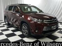CARFAX One-Owner. Clean CARFAX. 2017 Toyota Highlander