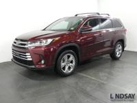 2017 Toyota Highlander Limited with only 16k miles!