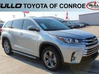Silver 2017 Toyota Highlander Limited Platinum 27/21
