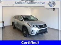 Toyota Highlander SE Certified. Clean CARFAX. Toyota