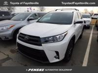 This 2017 Toyota Highlander 4dr SE V6 AWD features a