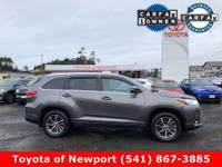 CARFAX One-Owner. Clean CARFAX. Gray 2017 Toyota