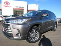 This 2017 Toyota Highlander comes equipped with push