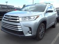 Look at this 2017 Toyota Highlander XLE. Its Automatic