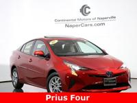 2017 Toyota Prius Four Red ** NAVIGATION **, Advanced
