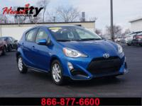 Toyota Certified!! The Toyota Prius c is the perfect
