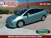 Toyota Certified Hybrid. One-Owner. Only 15K miles!