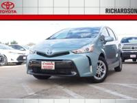PRICED TO SAVE YOU TIME AND MONEY! 2017 Toyota Prius v