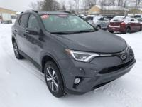 New Price! RAV4 XLE, AWD, Black w/Fabric Seat Trim,