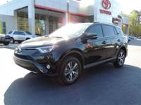 CARFAX One-Owner. Clean CARFAX. Black 2017 Toyota RAV4