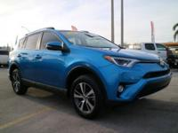 CARFAX One-Owner. 2017 Toyota RAV4 XLE Electric Storm