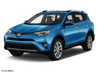 Options:  2017 Toyota Rav4 Hybrid Limited|Blue|2017