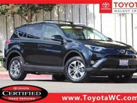 Toyota Certified, One Owner, Low Miles, Standard