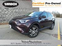 CARFAX One-Owner. Clean CARFAX. Purple 2017 Toyota RAV4