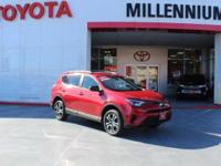Certified. Barcelona Red Metallic 2017 Toyota RAV4 AWD