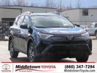 This outstanding example of a 2017 Toyota RAV4 LE is
