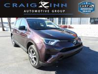 Certified Vehicle! CarFax 1-Owner, This 2017 Toyota