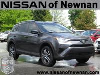 CARFAX One-Owner. Clean CARFAX. Gray 2017 Toyota RAV4