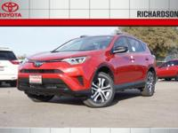PRICED TO SAVE YOU TIME AND MONEY!! 2017 Toyota RAV4 LE