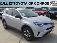 Silver 2017 Toyota RAV4 LE 30/23 Highway/City