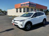 Check out this gently-used 2017 Toyota RAV4 we recently