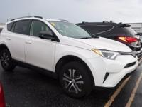 Clean CARFAX. 2017 Toyota RAV4 LE FWD 6-Speed Automatic
