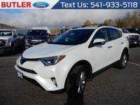 Gray 2017 Toyota RAV4 AWD 6-Speed Automatic 2.5L