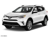 Options:  2017 Toyota Rav4 Limited|White|2017 Toyota