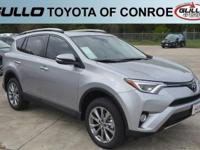 Silver 2017 Toyota RAV4 Limited 29/23 Highway/City