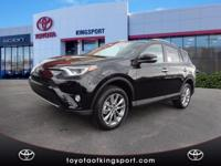 Options:  2017 Toyota Rav4 Limited|Black|2017 Toyota